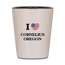 I love Cornelius Oregon Shot Glass