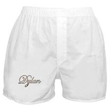 Gold Dylan Boxer Shorts