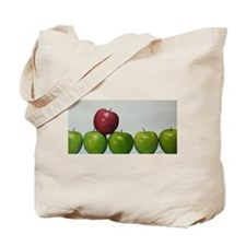 "apples,""keeping the Doctor away"" Tote Bag"