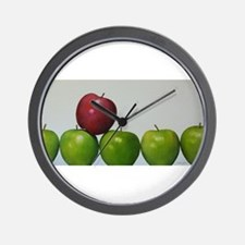 """apples,""""keeping the Doctor away"""" Wall Clock"""