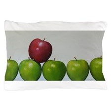 """apples,""""keeping the Doctor away"""" Pillow Case"""