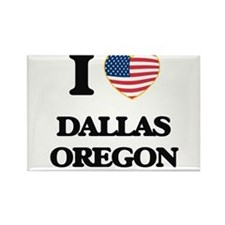 I love Dallas Oregon Magnets