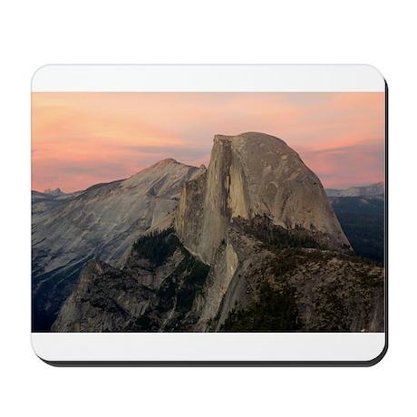 Half Dome at Twilight 1 Mousepad