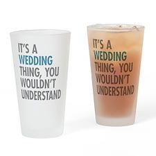 Wedding Thing Drinking Glass