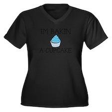 I'm Bakin A Boy Cupcake Plus Size T-Shirt