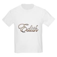 Gold Edith T-Shirt