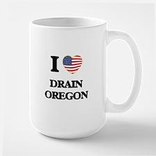 I love Drain Oregon Mugs