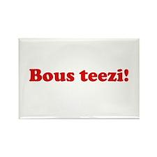 Bous Teezi Rectangle Magnet