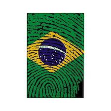 Cute Brazilian Rectangle Magnet
