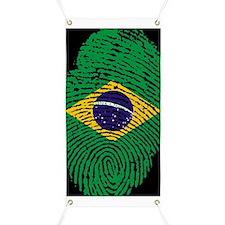 Cute Brazil flag Banner