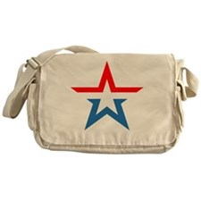 russia star Messenger Bag
