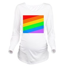 Gay lesbian bi transgender Long Sleeve Maternity T-Shirt