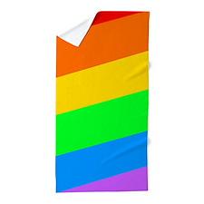 Cute Gay lesbian bi transgender Beach Towel