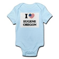 I love Eugene Oregon Body Suit
