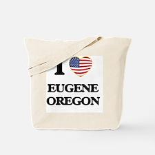 I love Eugene Oregon Tote Bag