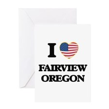 I love Fairview Oregon Greeting Cards
