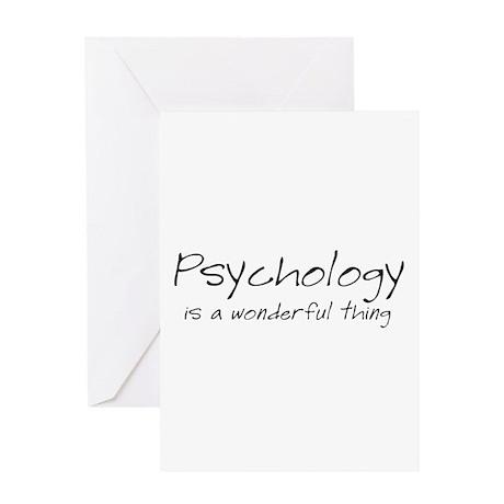 Psychology is a Wonderful Thi Greeting Card