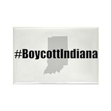 #BoycottIndiana Rectangle Magnet