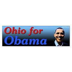 Ohio for Obama bumper sticker