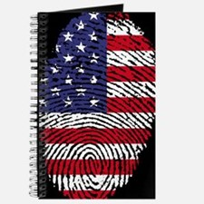 US America Flag Journal