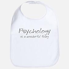 Psychology is a Wonderful Thi Bib