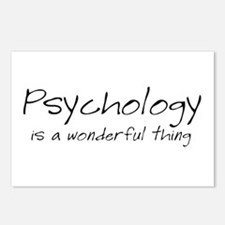 Psychology is a Wonderful Thi Postcards (Package o