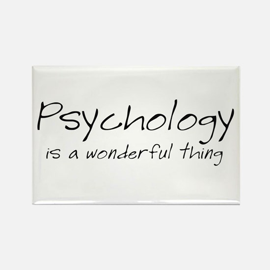 Psychology is a Wonderful Thi Rectangle Magnet