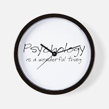 Psychology is a Wonderful Thi Wall Clock