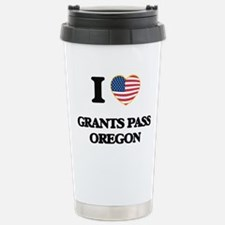 I love Grants Pass Oreg Travel Mug
