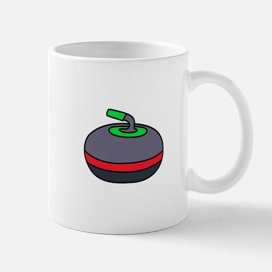 Curling Rock Mugs