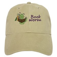Reading Bookworm Baseball Cap