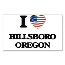I love Hillsboro Oregon Decal
