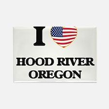 I love Hood River Oregon Magnets