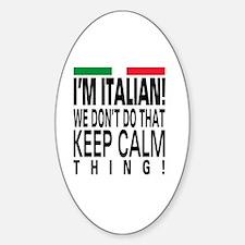 I'm Italian! Decal