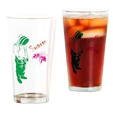 swarm Drinking Glass