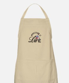 Wrestling is Life Apron