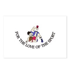 For the Love of the Sport Postcards (Package of 8)