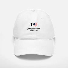 I love Junction City Oregon Baseball Baseball Cap