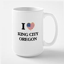 I love King City Oregon Mugs