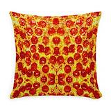 Pizza Woven Pillows