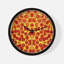 Cute Pizza Wall Clock