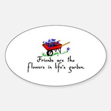 Friends Are Flowers Decal