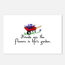 Friends Are Flowers Postcards (Package of 8)
