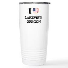 I love Lakeview Oregon Travel Coffee Mug