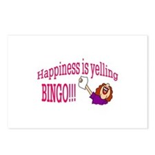 Happiness Bingo Postcards (Package of 8)