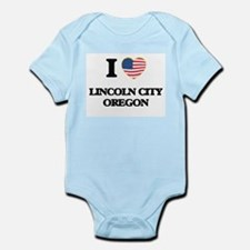 I love Lincoln City Oregon Body Suit