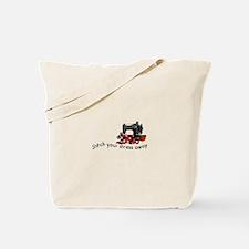 Stress Away Tote Bag