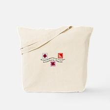 No More Fabric Tote Bag