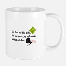 Lives Are Quilts Mugs