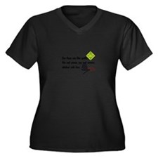 Lives Are Quilts Plus Size T-Shirt
